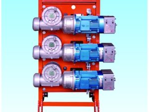 Three Motors Transmission Mechanism Driving System for Construction Hoist or Passenger hoist